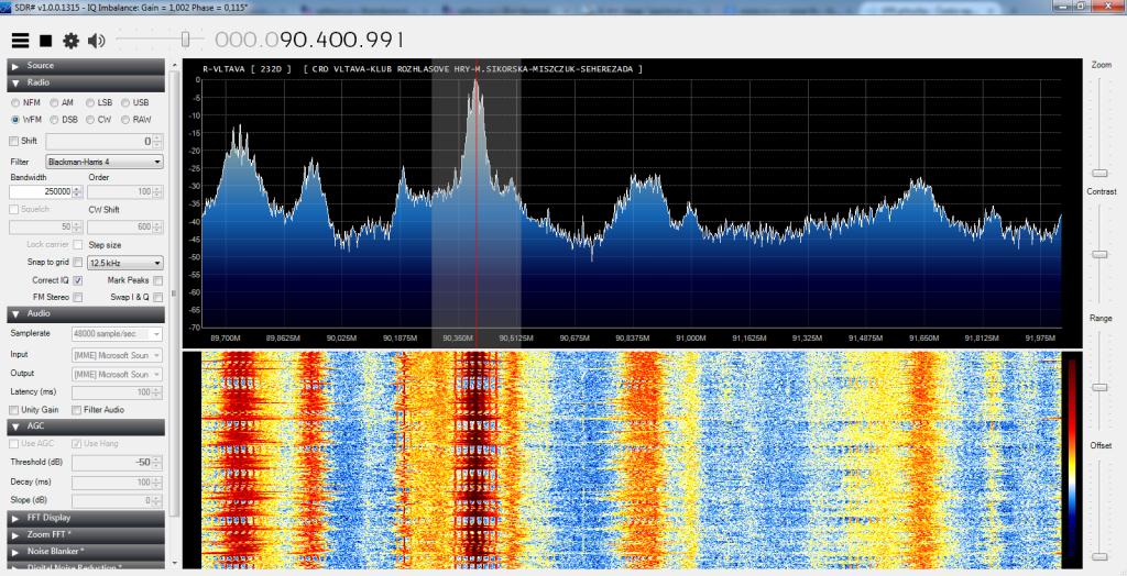 Příjem FM signálu bez VKV filtru